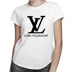 Lord Voldemort - damska koszulka z nadrukiem
