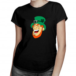 Leprechaun - damska koszulka z nadrukiem