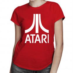 ATARI - damska koszulka z nadrukiem