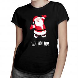 Święty Mikołaj - damska koszulka z nadrukiem