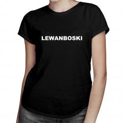Lewanboski - damska koszulka z nadrukiem