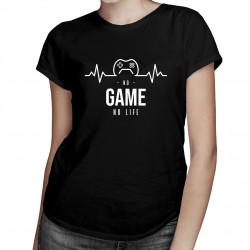 No game no life - damska koszulka z nadrukiem