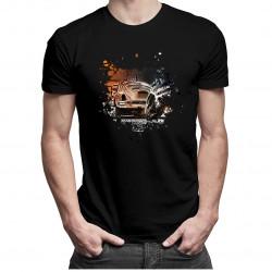 Mechanik - męska koszulka z nadrukiem