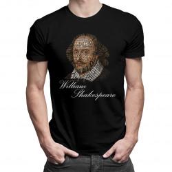 William Shakespeare - męska koszulka z nadrukiem