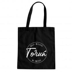 Toruń - moje miejsce na świecie - torba z nadrukiem
