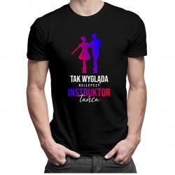 Tak wygląda najlepszy instruktor tańca - męska koszulka z nadrukiem