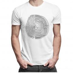 Natura v1 - męska koszulka z nadrukiem
