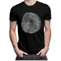 Natura v2 - męska koszulka z nadrukiem