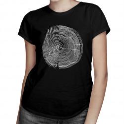 Natura v2 - damska koszulka z nadrukiem