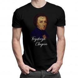 Fryderyk Chopin - męska koszulka z nadrukiem
