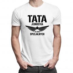 Tata - jednostka do zadań specjalnych v2 - męska koszulka z nadrukiem