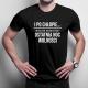 I po chłopie... wieczór kawalerski - ostatnia noc wolności - męska koszulka z nadrukiem