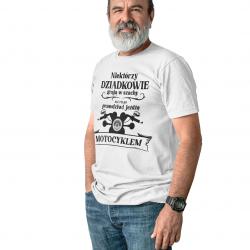 Niektórzy dziadkowie grają szachy - męska koszulka z nadrukiem