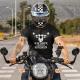 Ja nie chrapię - ja śnię, że jestem motocyklem - męska koszulka z nadrukiem
