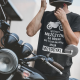 Wszyscy mężczyźni są równi - motocykl - męska koszulka z nadrukiem