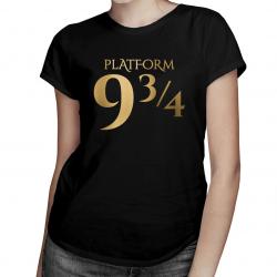 9 3/4 - damska koszulka z nadrukiem