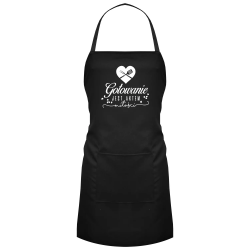 Gotowanie jest aktem miłości - fartuch z nadrukiem