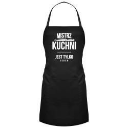 Mistrz kuchni jest tylko jeden - fartuch z nadrukiem