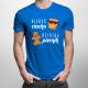 Kiedyś ciacho, dzisiaj piernik - męska koszulka z nadrukiem