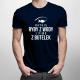 Ratuję ryby z wody i piwo z butelek - męska koszulka z nadrukiem