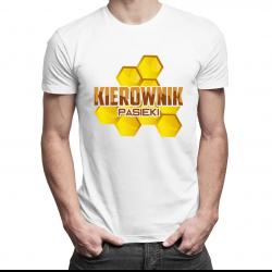 Kierownik pasieki - męska koszulka z nadrukiem