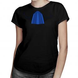 Żabot radcy prawnego - damska koszulka z nadrukiem