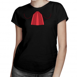 Żabot prokuratora - damska koszulka z nadrukiem