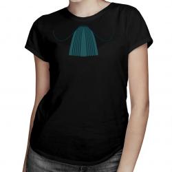Żabot adwokata - damska koszulka z nadrukiem