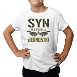 Syn Dowódca Jednostki - koszulka dziecięca z nadrukiem